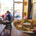 Zion Utah Mexican restaurant | Zion Canyon Chips and Fresh Salsa | Goat Cheese Chili Relleno | Beer and Wine in Zion Utah | Mexican Fusion Cuisine