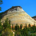 Zion Hiking Trails: Checkerboard Mesa in Zion National Park: Hiking in Zion National Park is a great activity when visiting this popular national park.