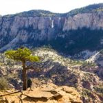 Zion Hiking Trail: Northgate Peaks in Zion National Park - One of many Zion hikes that is moderately difficult and semi-family friendly.
