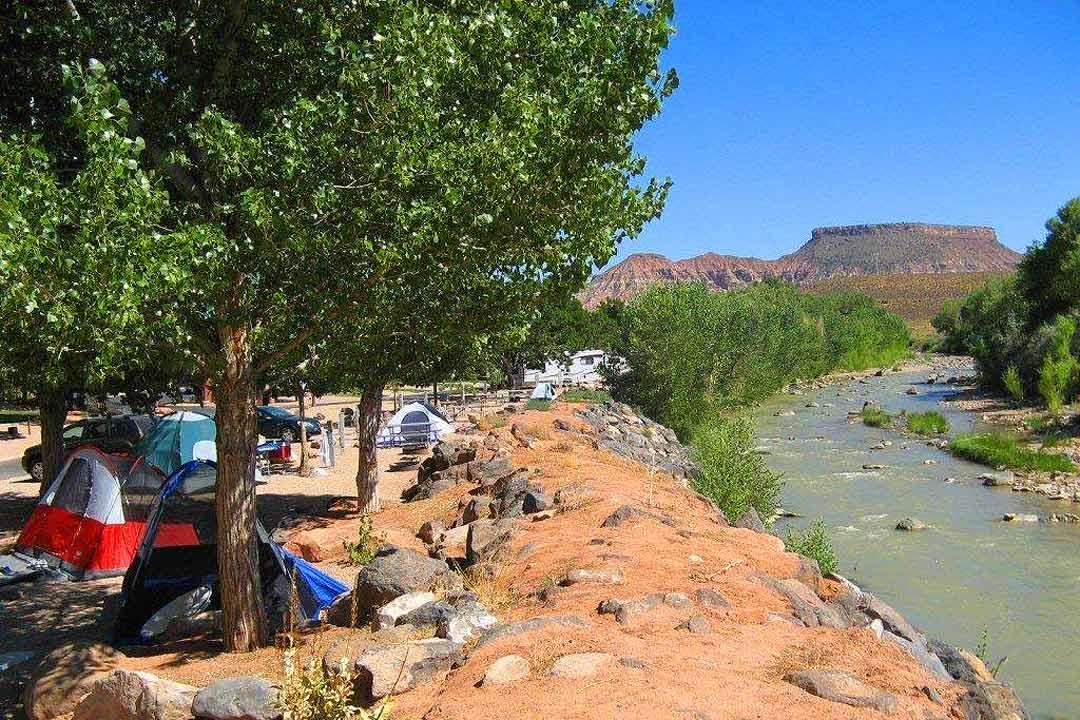 & Zion RV and Campground | Zion River Resort | Zion u0026 Virgin Utah