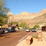 parking in zion | Springdale utah parking lots | driving through Zion National Park | Zion Parking Fees