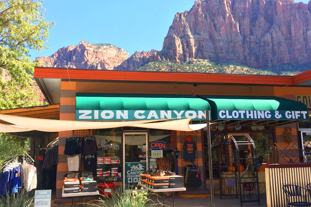 Zion Shopping | Native American Art in Zion | Zion National Park Souvenirs | Zion Canyon T-Shirts | Zion Canyon Hiking Gear