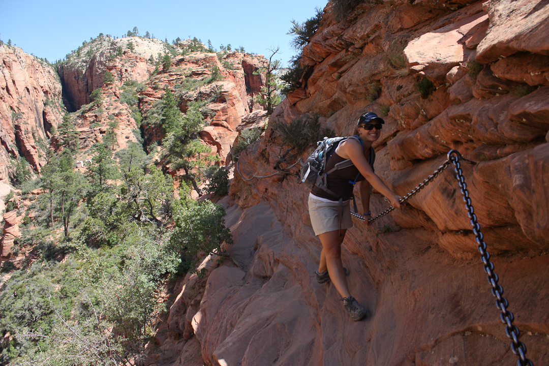 Angels Landing Hiking Trail Zion | Zion National Park Hikes