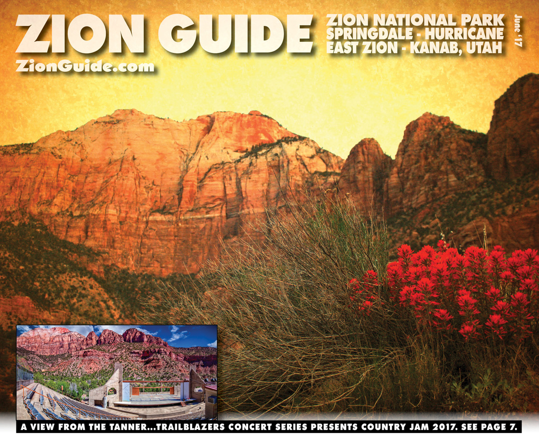 Zion National Park Guide | June 2017 | ZionGuide.com | Guide To Zion