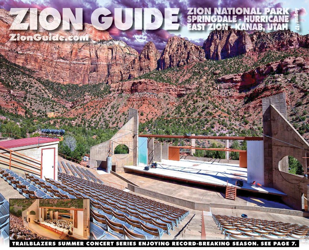 Zion National Park Guide | August 2017 | ZionGuide.com | Guide To Zion