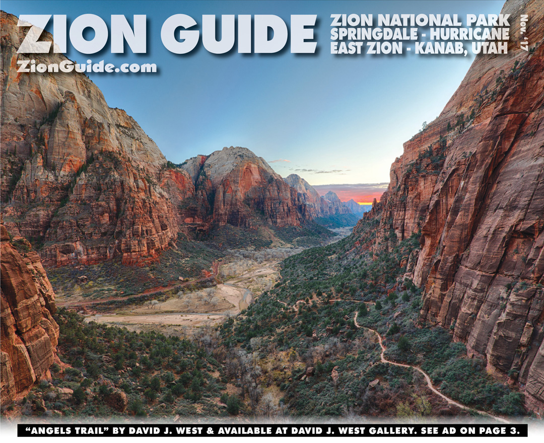 Zion National Park Guide | November 2017 | ZionGuide.com | Guide To Zion
