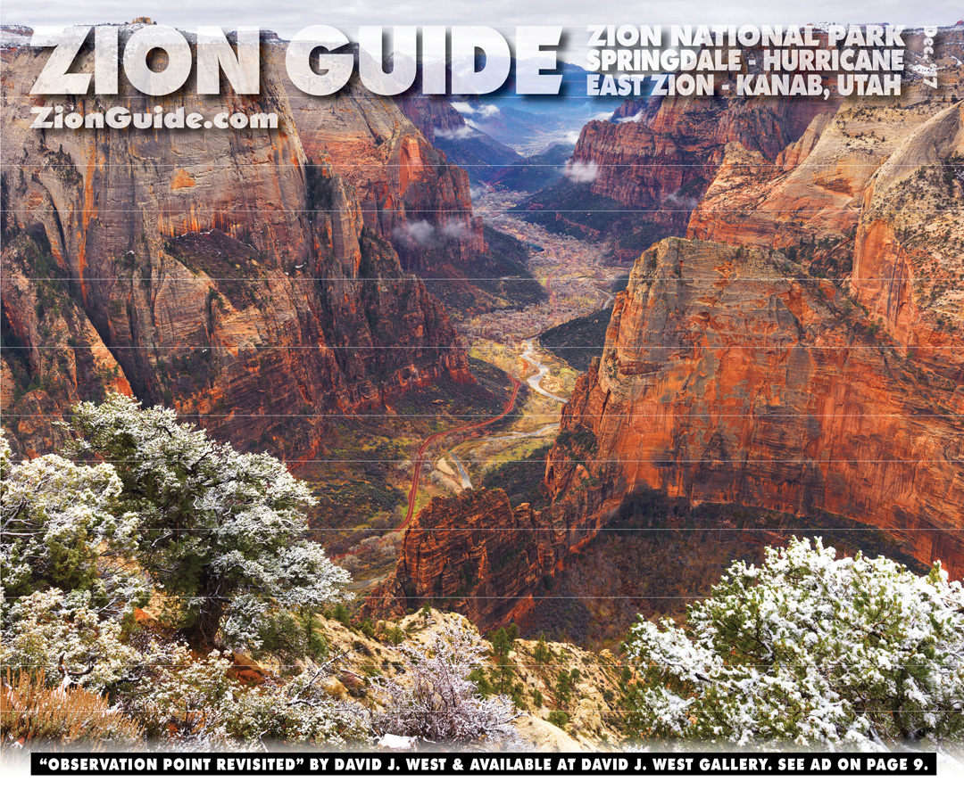Zion National Park Guide | December 2017 | ZionGuide.com | Guide To Zion
