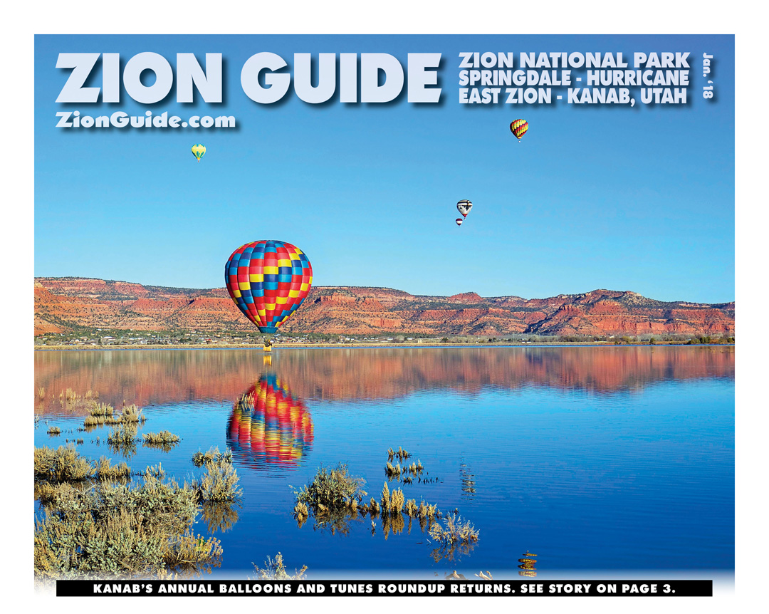 Zion National Park Guide | January 2018 | ZionGuide.com | Guide To Zion